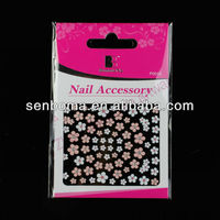 2013 Newly Flower nail art sticker designs