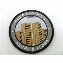Create your own patches made fabric patches for clothing custom woven name patch