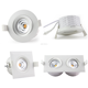 CE,Rosh,NEMKO Ra>92 IP44 360deg tilt GYRO led downlight actec driver 5 years warranty