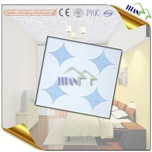 595*595mm Glass Fiber Gypsum Acrylic Ceiling Tile