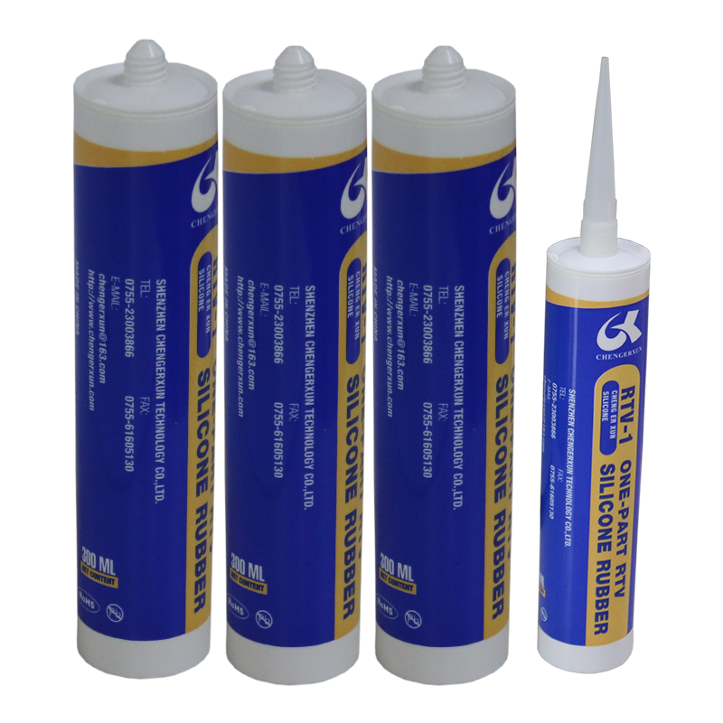 White One component Conductive Adhesive Silica Gel Glue for Electrical burn