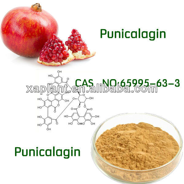 100% Natural Punicalagin Extract Pomegranate Peel Extract