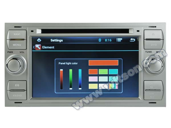 WITSON ANDROID 4.2 AUTO RADIO CAR DVD GPS FOR FORD FOCUS 2005-2007/GALAXY 2000-2009 WITH A9 CHIPSET 1080P