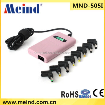 Universal laptop adapter with 8 connectors manufacturer/supplier/exporter