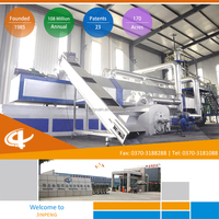 Continuous tyre recycling machine Coa Gas system with CE certification
