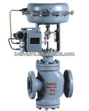 Pneumatic actuator multi-hole low noise control valve