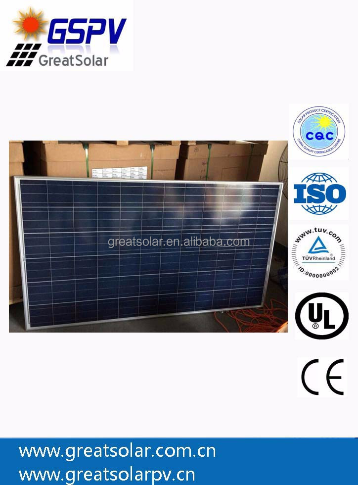 Price Per Watt Solar Panel 300W, pv Solar Module with High Efficiency in China