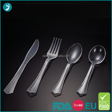 2016 trending products different design Disposable plastic cutlery in China