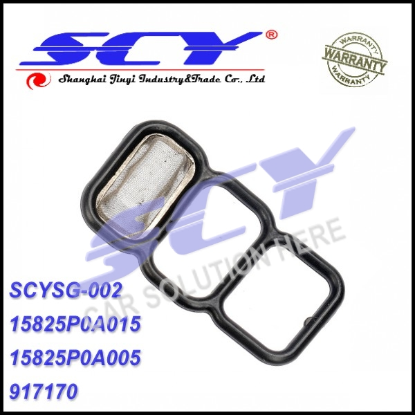 Upper Lower Spool Valve VTEC Solenoid Gasket For Honda 94-02 Accord 4 Cylinder 15825-P0A-005 15825P0A005 15825-P0A-015 15825P0A