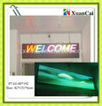 Full color indoor SMD P7.62-48*192RGB LED door header screen
