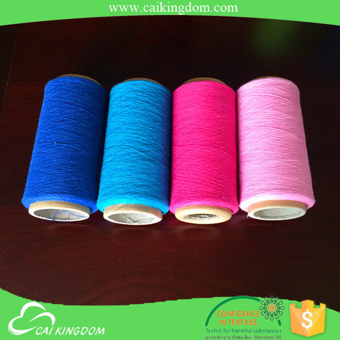 10 production line 65% polyester 35% cotton recycle cotton t-shirt yarn