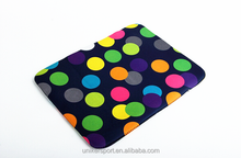 12 Inch fashion neoprene fabric tablet pc sleeve/case/bag without zipper for Ipad ,laptop bag,laptop cover for tablet