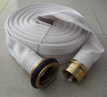 Fire Hose Fire Flat Hydrant Hose 25 Bar Working Pressure Fire Polyester yarn Canvas Extinguisher Hose