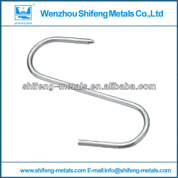 S shaped hanging hook