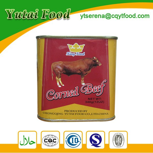 Wholesale Ready to Eat Halal Products Canned Corned Beef