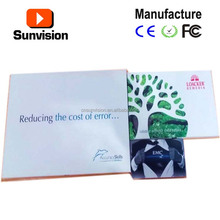 TFT Type and Indoor Application lcd greeting video card