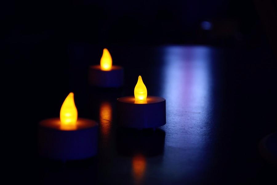 mini en plastique sans flamme led th candle light bougie. Black Bedroom Furniture Sets. Home Design Ideas