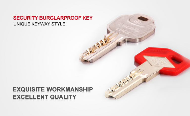 special burglarproof european lock cylinder with thumb turn euro cylinder