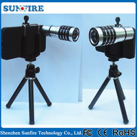 10X camera android zoom lens phone camera lens for iphone 5 5S smartphone lens with tripod