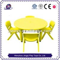 2016 Low price kids plastic table and chair for preschool