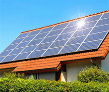 Distributed Solar Energy Products 5KW on Grid Solar Power System for Home