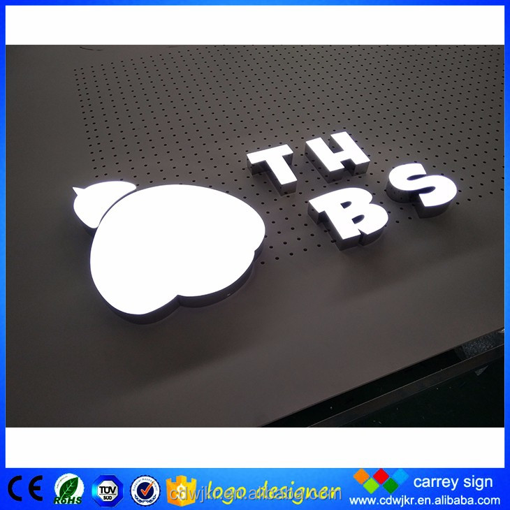 Good looking and colorful 3d f logo sign with sample proposal letter offer
