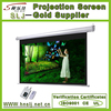 "Home theatre 120"" electric screen/HD beamer screen/slide projector screen 3D projector display motorized projection screen RF"