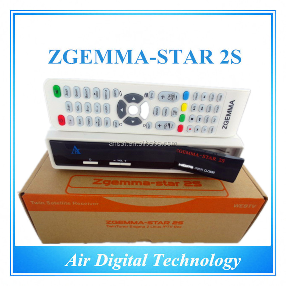 The best selling products Zgemma Star 2S enigma 2 linux hd satellite tv receiver Stock