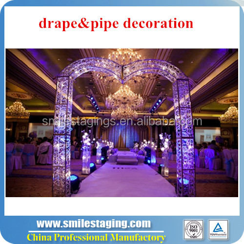 wholesale pipe and drape with adjustable crossbar, Portable innovative systems pipe and drape