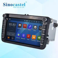 VW Radio Car Audio System DVD GPS 2 Din With Bluetooth 3G WiFi For VW Series Car