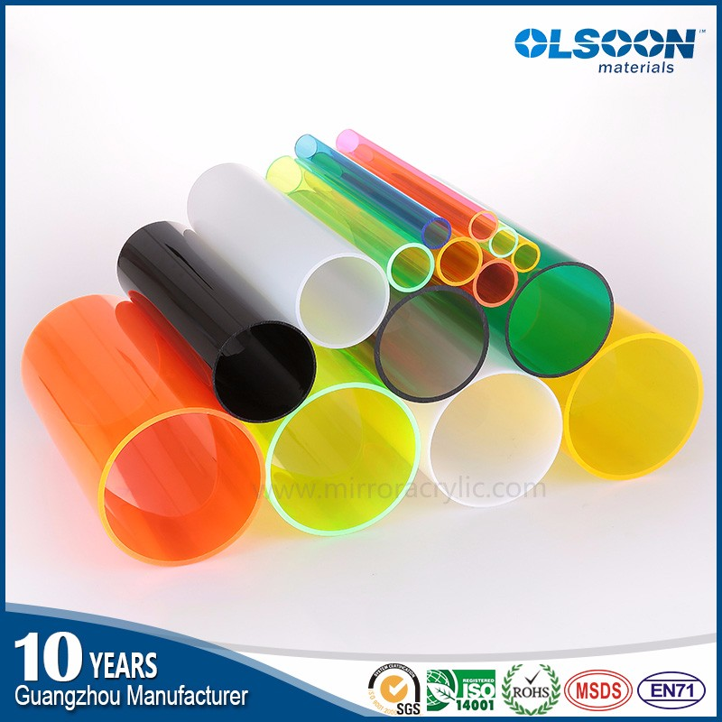 Olsoon large diameter 1000mm diameter solid acrylic tube