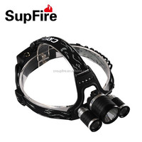 SupFire rechargeable powerful headlamp
