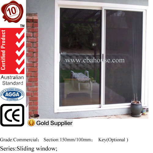 brown aluminum windows with mosquito window screen frame AS2047 aluminum extrusion profiles for windows and doors