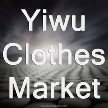 Yiwu cotton fabric clothes market for children