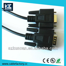 Inexpensive Products good quality vga cable with ferrites cable.rs232 to vga adapte