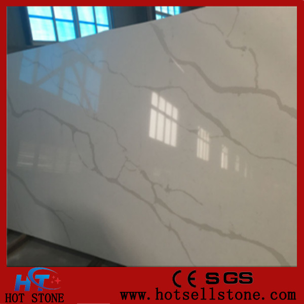 wholesale statuary white quartz slab