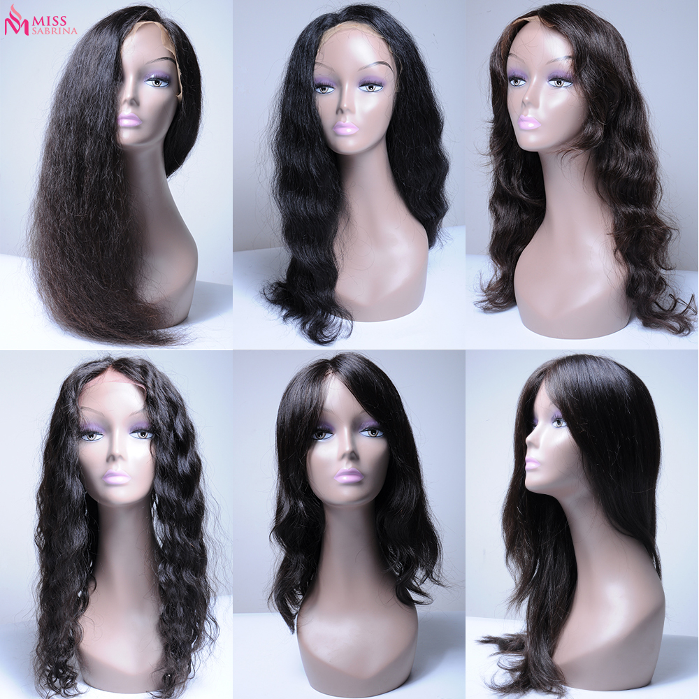 Miss Sabrina wholesale virgin hair wigs cheap human hair wigs for black women