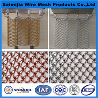 Economic hot selling metal mesh decorative curtain