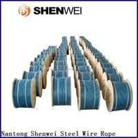 high quality sisal hemp stranded steelwire ropes