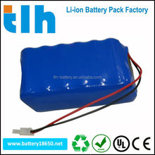 Military 6600mAh 14.8V 18650 rechargeable battery