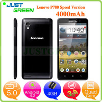 Lenovo P780 China mobile phone 5 inch MTK6589 Quad Cores phone 1GB 8GB Android 4.2 wholesale mobile phone
