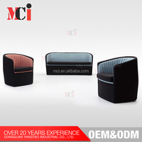 Commercial Furniture Wholesale Two Seats Couch