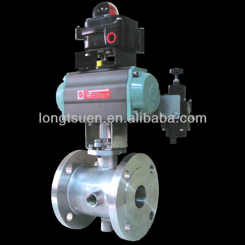 Floating type Steam Jacket Control Ball Valve