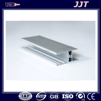 Tight tolerance 6063 aluminum custom profiles products for making doors and windows