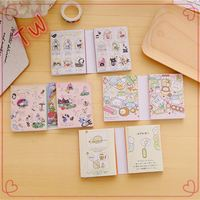 Low MOQ cute stationery online shopping .Factory price Custom Colorful Cute mini sticky note pad book