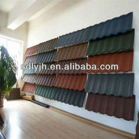 COLORFUL STONE COATED STEEL ROOFING SHEET MANUFACTURER
