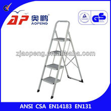 4 Step Fixed Steel Ladders