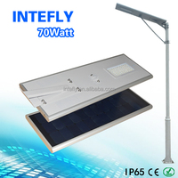 High quality 70W Solar LED Street Light in Shenzhen China Factory