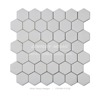 century white thassos hexagon marble mosaic tile for wall floor decoration