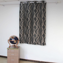 Wholesale 100% Polyester Modern Living Room Jacquard Curtain